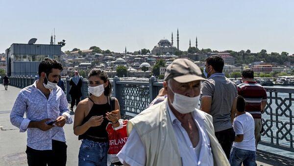 İstanbul - maske - Sputnik Türkiye