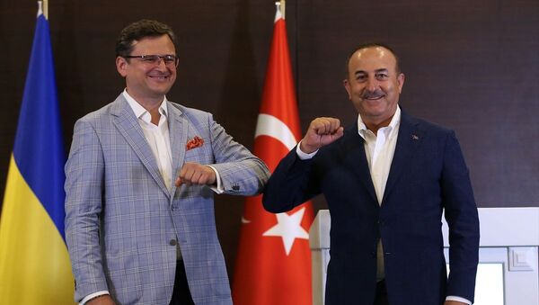 Çavuşoğlu-Kuleba görüşmesi - Sputnik Türkiye