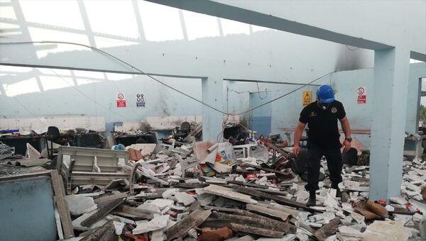 Sakarya'daki patlamadan kalanlar - Sputnik Türkiye