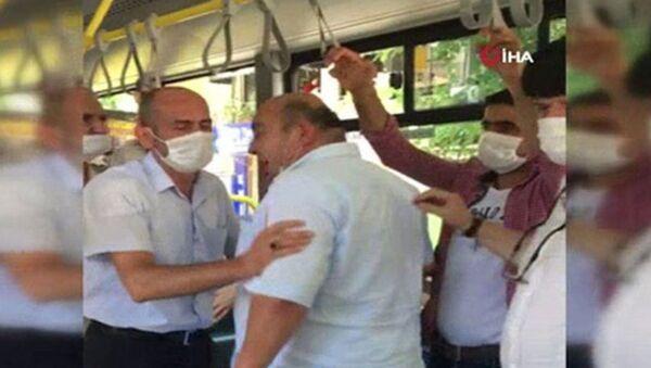Yanıma kimse oturmasın tartışması - Sputnik Türkiye
