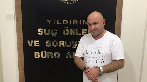 Hakkında çeşitli suçlardan 185 yıl kesinleşmiş hapis cezası bulunan ve 3 yıldır aranan Muharrem Ulukuş Bursa'da yakalandı. - Sputnik Türkiye