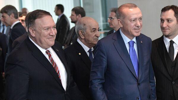 Mike Pompeo   - Recep Tayyip Erdoğan - Sputnik Türkiye