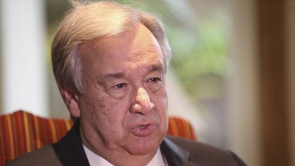 BM Genel Sekreteri Antonio Guterres - Sputnik Türkiye