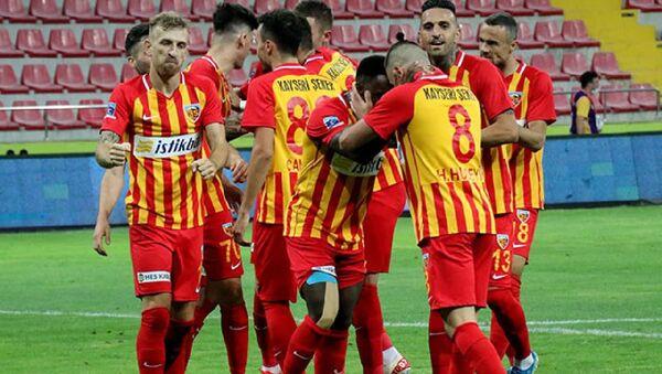Kayserispor kendi sahasında Beşiktaş'ı 3-1 mağlup etti - Sputnik Türkiye