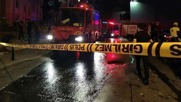 Mecidiyeköy'de televizyon tamir atölyesinde patlama: 1 yaralı - Sputnik Türkiye