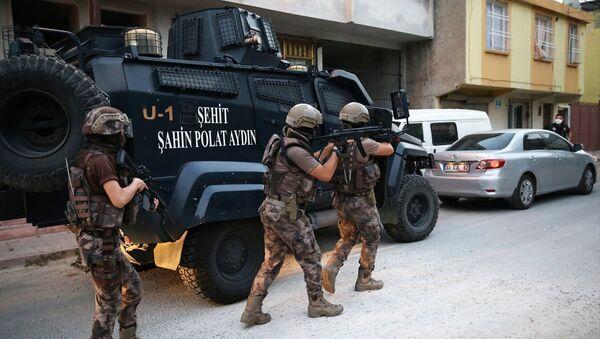 Adana'da operasyon - Sputnik Türkiye