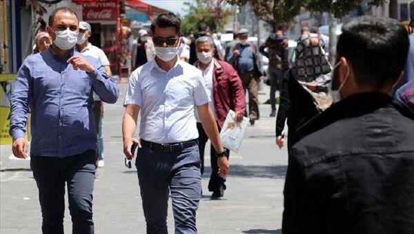 Ağrı, maske - Sputnik Türkiye