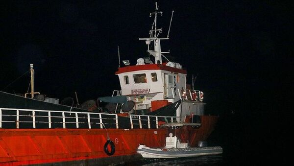 İzmir, sığınmacı, gemi - Sputnik Türkiye