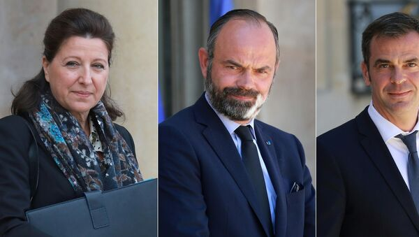 Fransa'da yeni tip koronavirüs (Kovid-19) salgınının yönetimine ilişkin eski Başbakan Edouard Philippe, eski Sağlık Bakanları Olivier Veran ve Agnes Buzyn hakkında soruşturma açıldı. - Sputnik Türkiye
