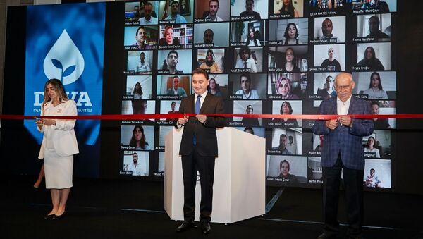 DEVA Partisi Genel Merkezi'nin açılışı dijital ortamda yapıldı - Sputnik Türkiye