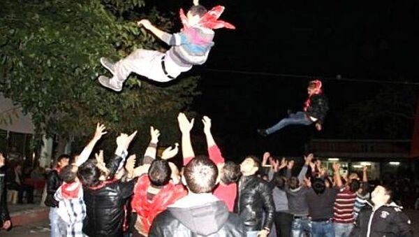 Asker uğurlama töreni - Sputnik Türkiye